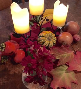 Thanksgiving-table-arrangement
